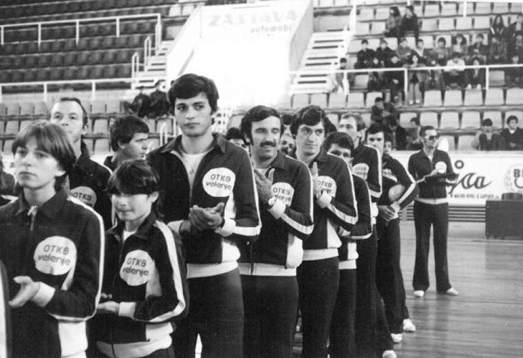 Kegljači Šoštanja na igrah v Splitu leta 1978
