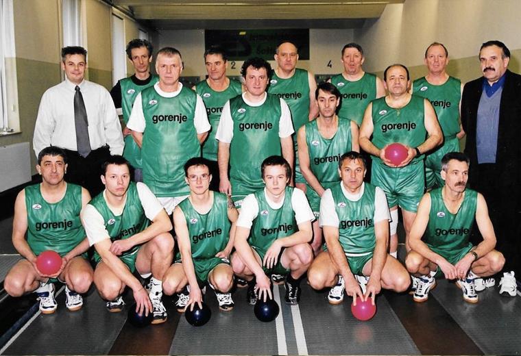 Ekipa Šoštanja leta 2002