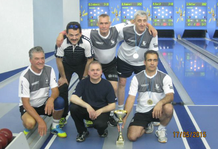 Osvojitev ekipnega prvega mesta na 3. memorijalnem kegljaškem turnirju Aleksandra Mandiča na Hrvaškem